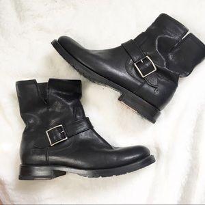 Frye || Natalie Short Engineer Boot Size 7.5